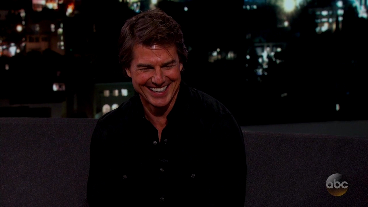 Tom Cruise on Jimmy Kimmel Live – Videos + Screen Captures