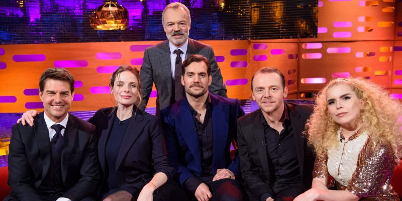 Tom Cruise on The Graham Norton Show