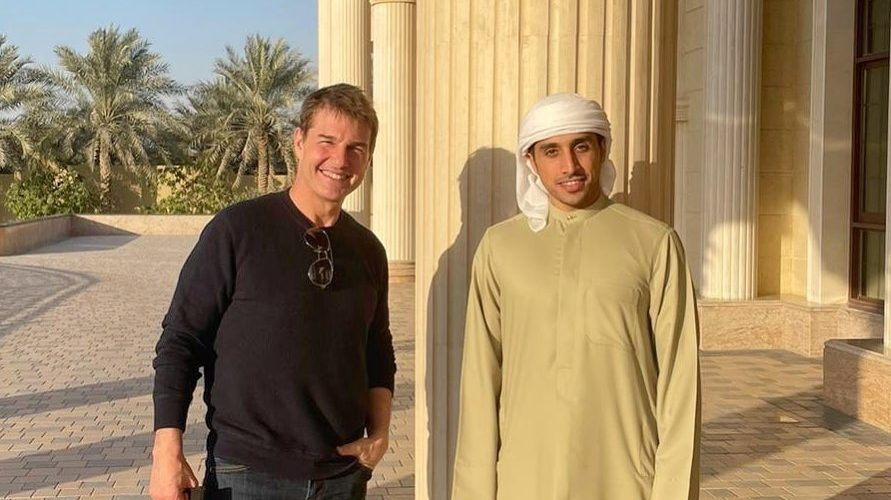 Tom Cruise is Dubai to film Mission: Impossible 7 & 8